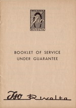 Thumb Service Booklet
